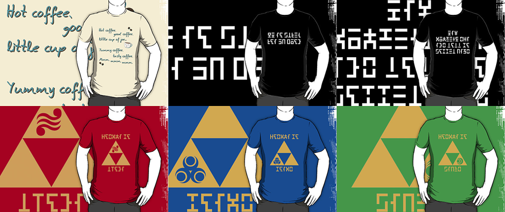 New Shirt Designs of October 2013 by Sarinilli