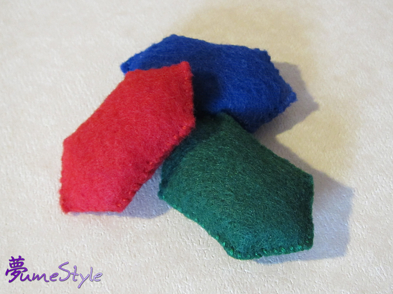 Mini Felt Rupee Plush by Sarinilli