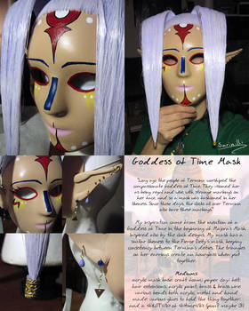 Goddess of Time Mask