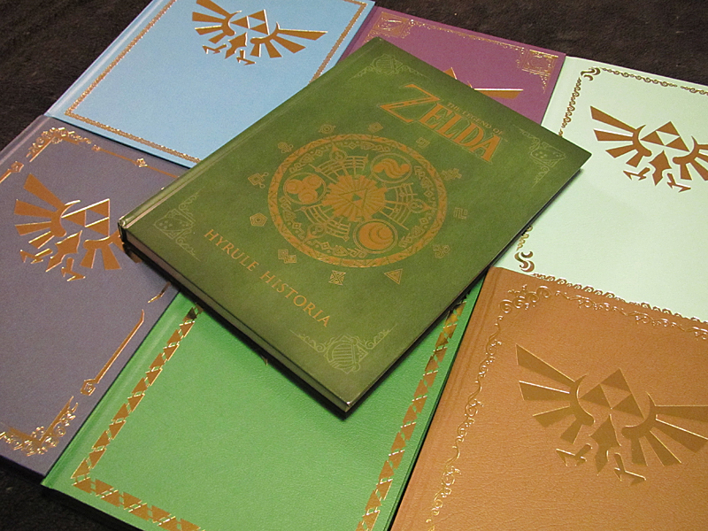 Tomes of Hyrule by Sarinilli