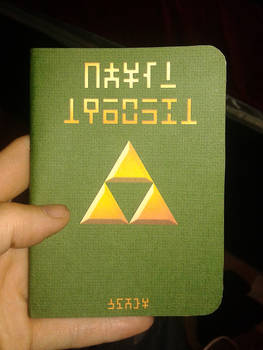 New Hylian Notebook!