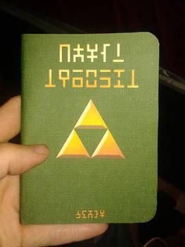 New Hylian Notebook!