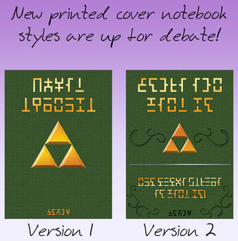 New Notebook cover styles