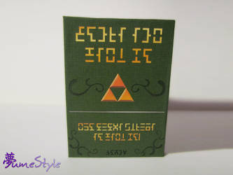 New Zelda Notebook by Sarinilli