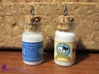 Mini Lon Lon Milk Bottles by Sarinilli