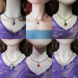 BJD Necklaces August 2016