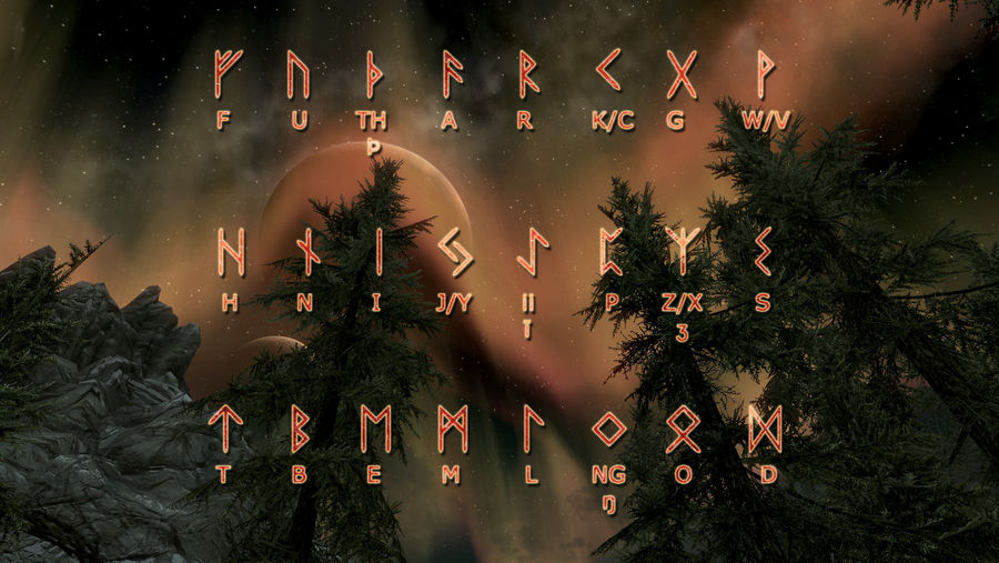 Runic wallpaper by sarinilli on deviantart - Norse mythology 4k wallpaper ...