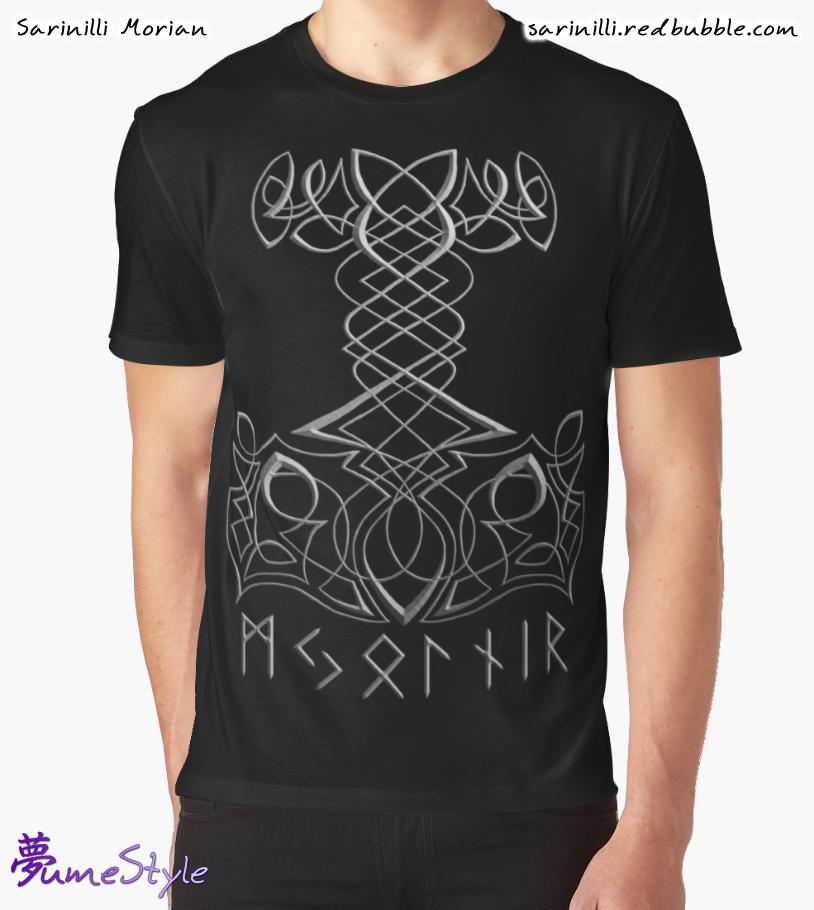 Mjolnir Knotwork by Sarinilli