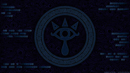 Sheikah Slate Wallpaper