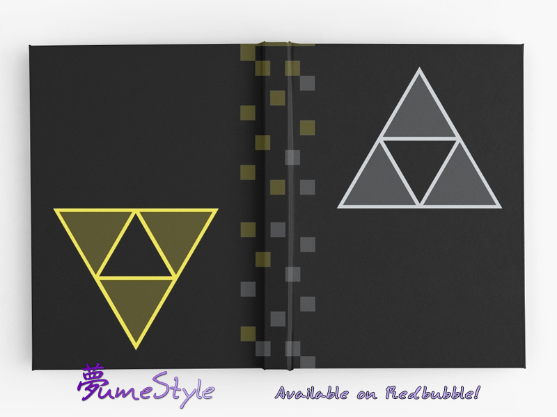 RB023 - Hyrule and Lorule Triforces by Sarinilli