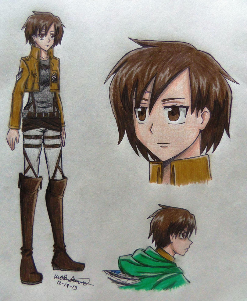 Romi Sanders .:SnK OC:. RE_SUBMITTED by MamoruAka on ...