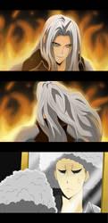 Sephiroth's Bad Hair Day by darthfilart