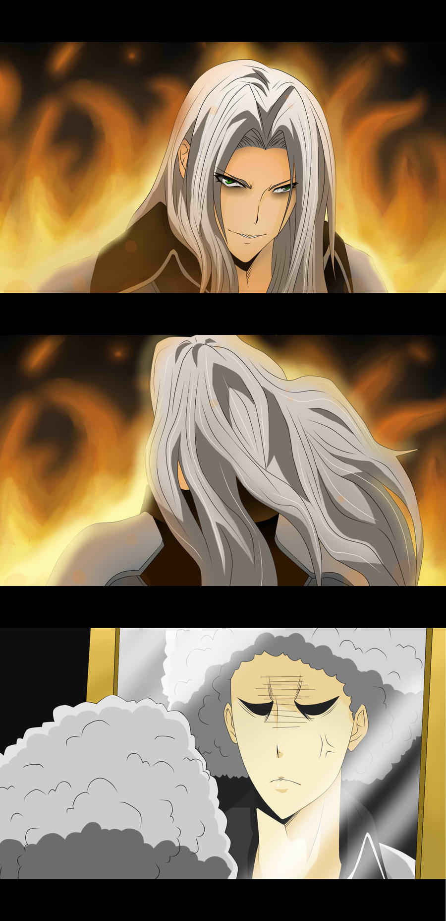 Sephiroth's Bad Hair Day