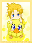 Two Baby Chocobos