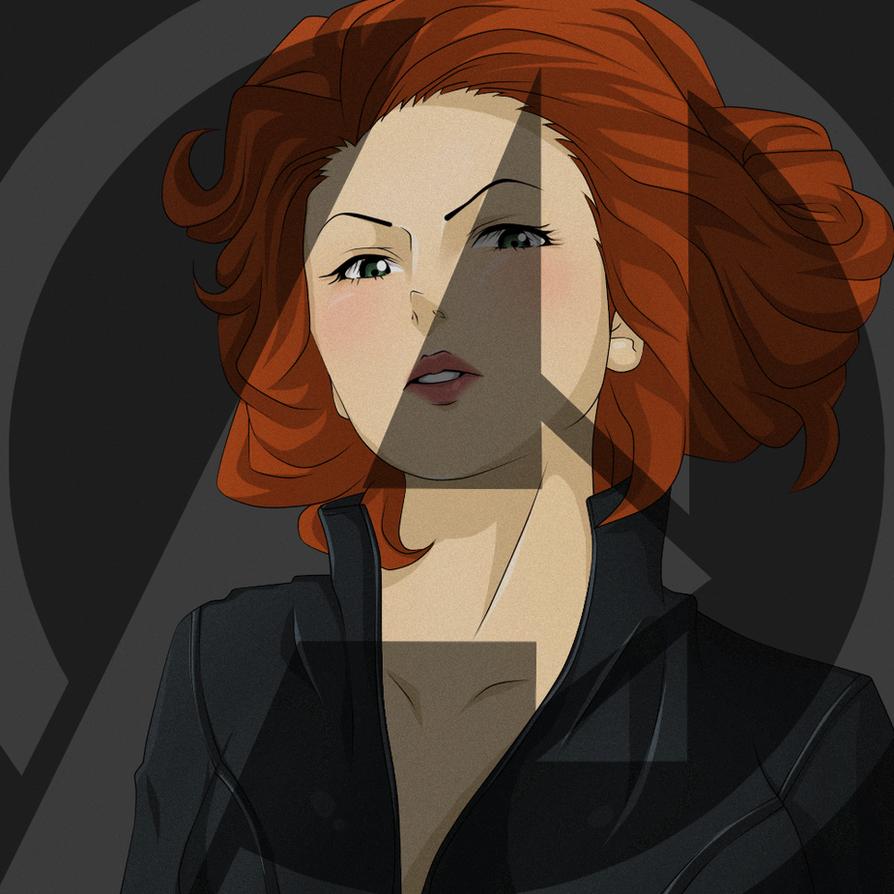 Avengers Black Widow By Darthfilart On Deviantart