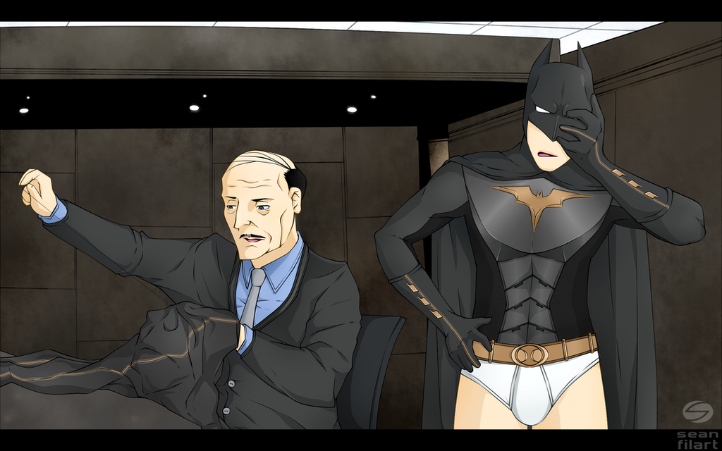 Patience, Master Wayne by darthfilart