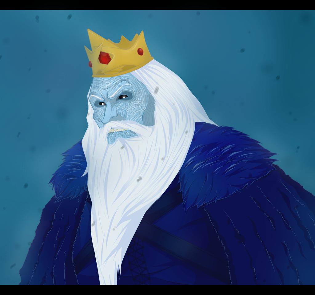 Ice King by darthfilart