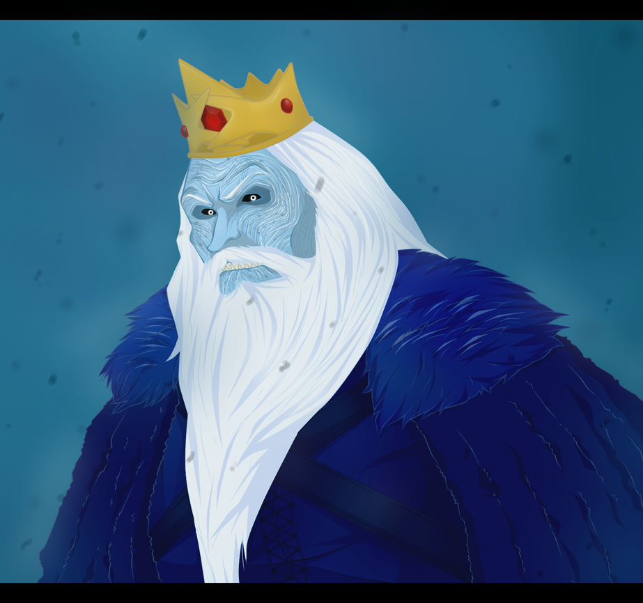 Ice King by darthfilart