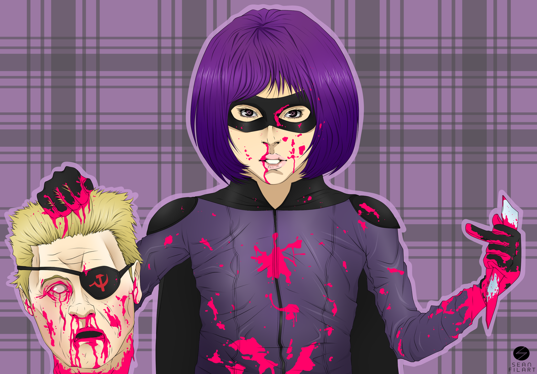Hit-Girl by darthfilart