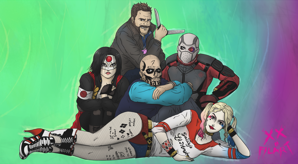 Suicide Club by darthfilart