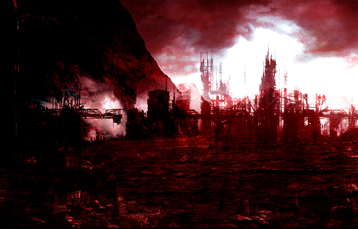 Ruined City by kalika1000