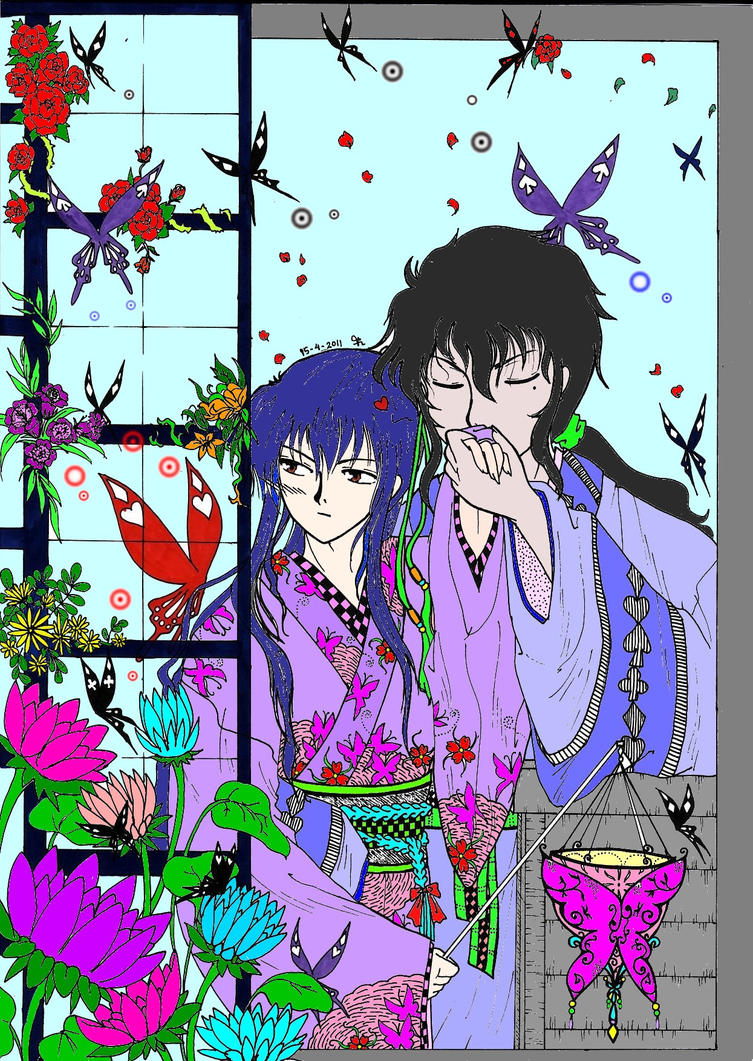 Tease the Lotus by Ashurasakurahime