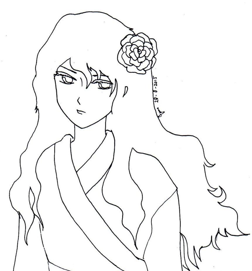 line art by Ashurasakurahime