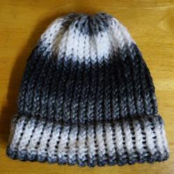 Grey Knit Hat