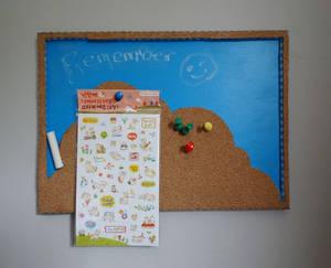 Chalk and Pin Board Craft