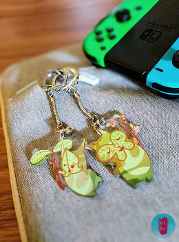 Those Cute Little Koroks...are now keychains!