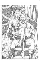 Harley Quinn/Joker - Christmas By DeanJuliette by DeanJuliette