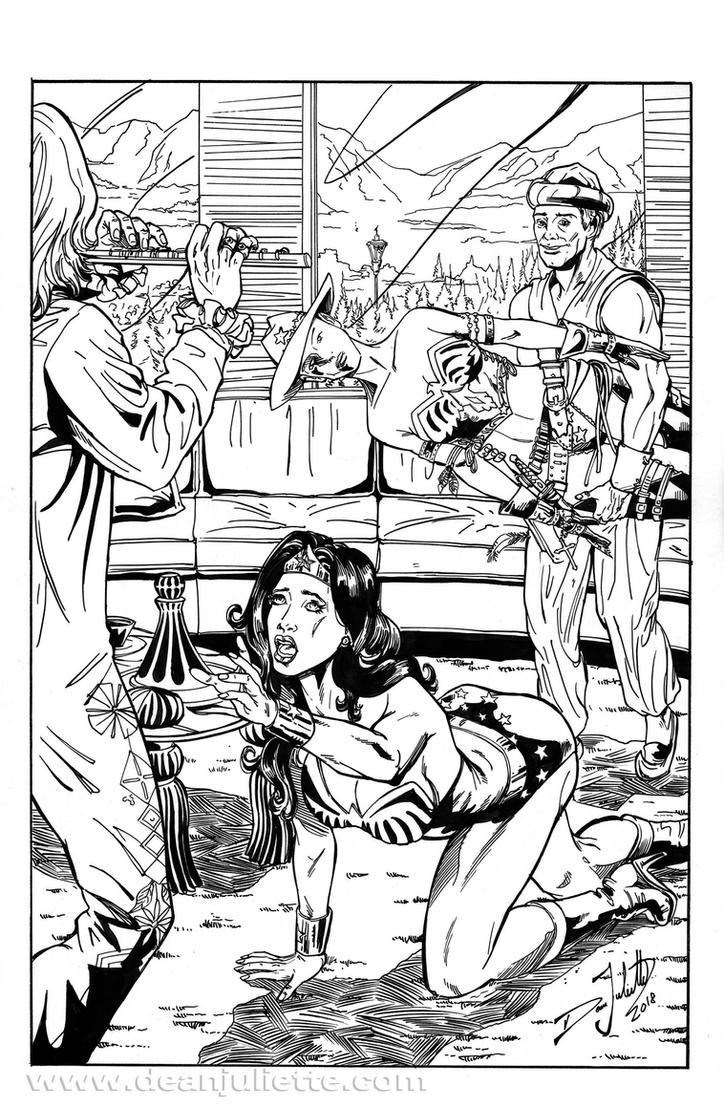 Wonder Woman / Pied Piper 01 of 03 by DeanJuliette