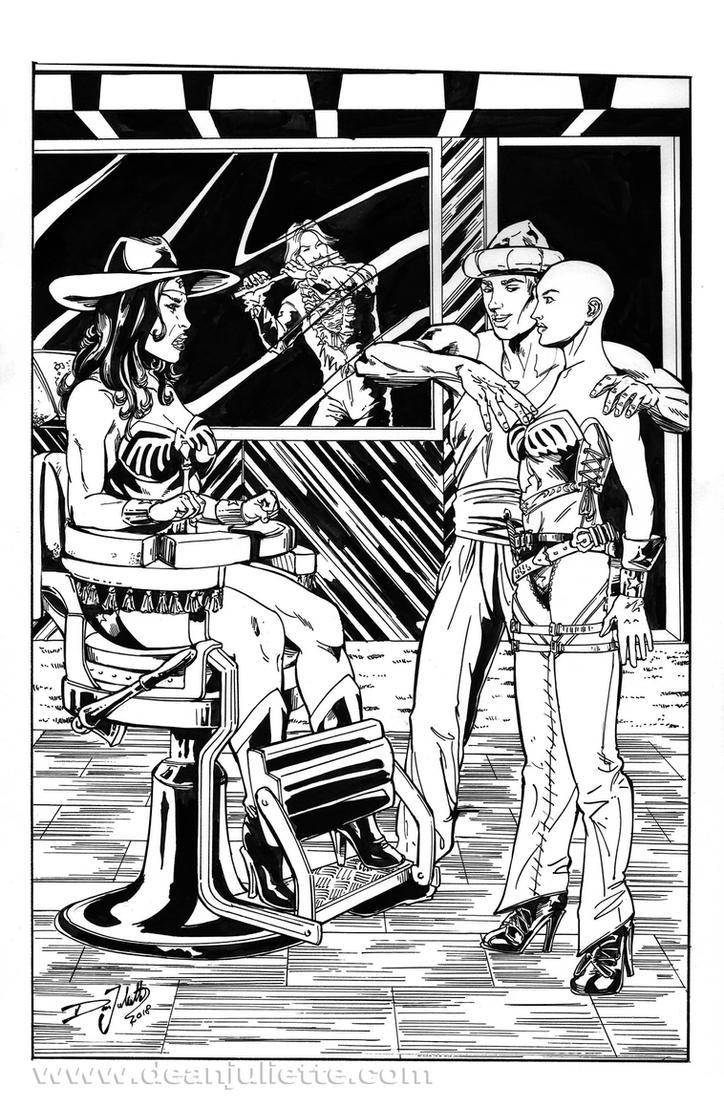 Wonder Woman / Pied Piper 03 of 03 by DeanJuliette