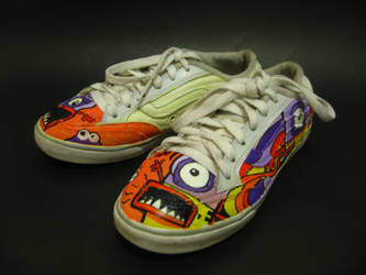 Monster Shoes Print