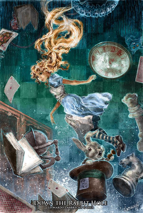 Down the Rabbit Hole by Leonardo-Lambrecht