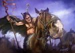 Cavalry Charge by Leonardo-Lambrecht