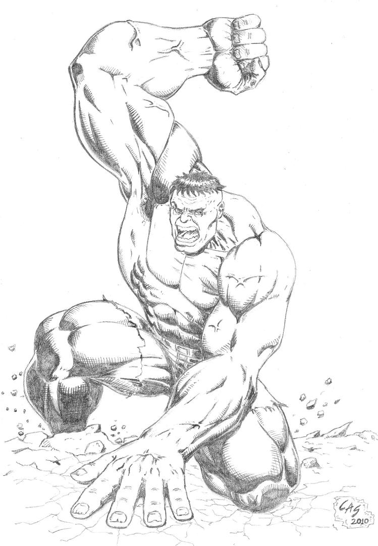 Hulk by carlosarielsosa