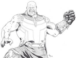 Thanos by carlosarielsosa