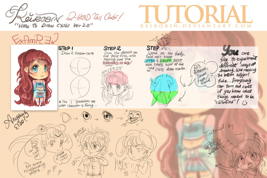 Chibi Tutorial by Rei 2.0 by ReiRobin