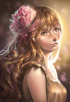 Commission: Lunami by ReiRobin