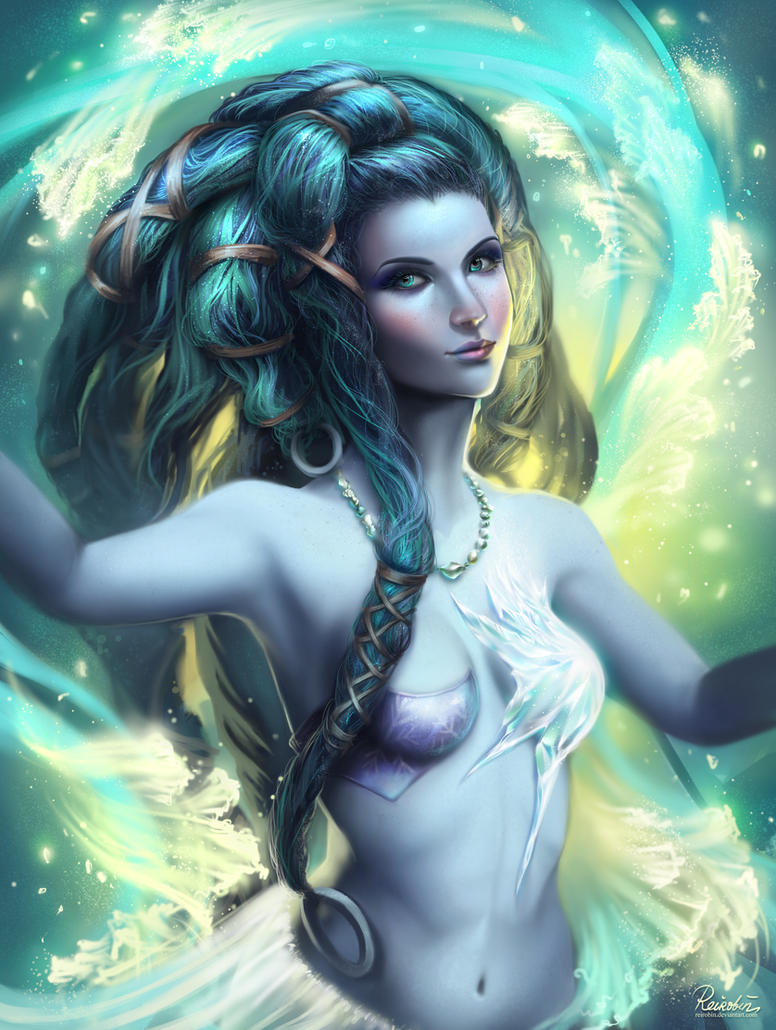Shiva FFX Remaster by ReiRobin