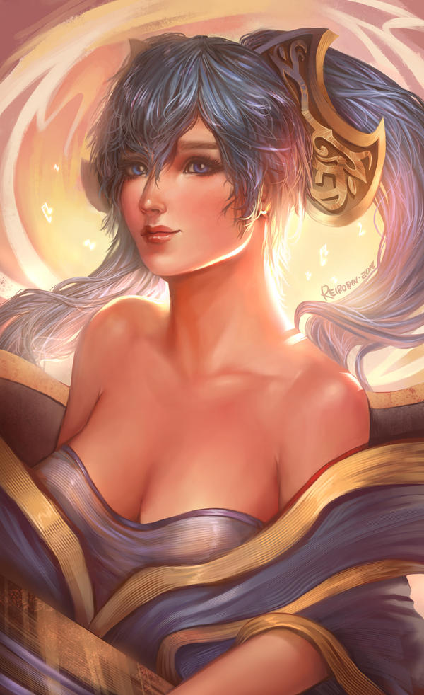 Sona LoL by ReiRobin