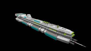 1:1 scale L.M.S. Explorer model by Arthuriel