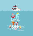 we belong to sea