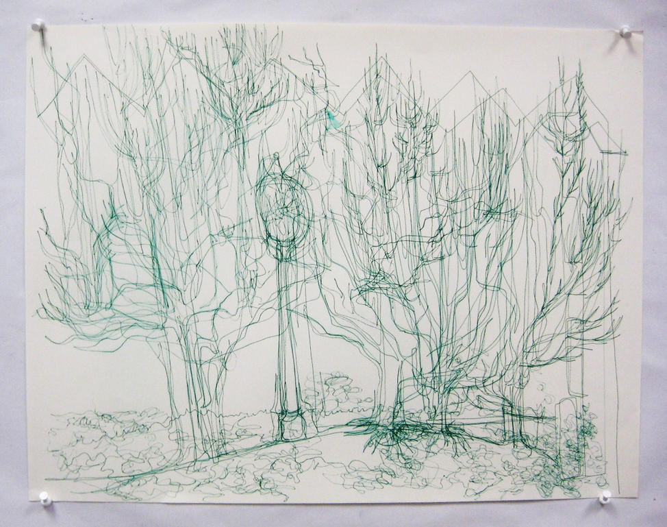 Contour Line Landscape Drawing : Contour landscape by annelives on deviantart