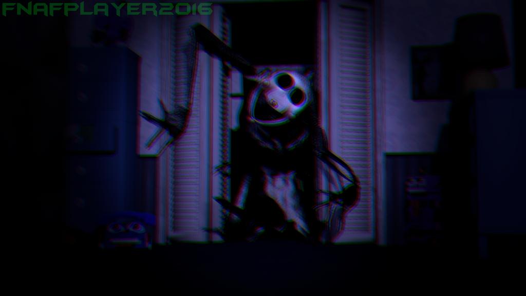 [SFM FNAF] Reaper Puppet in FNAF 4 edited by FNAFplayer2016