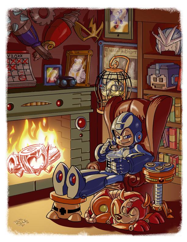 Megaman Tribute by Crazyskull
