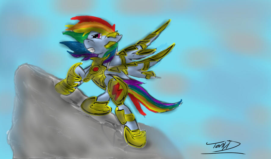 Rainbow Knight by ShadesofEverfree