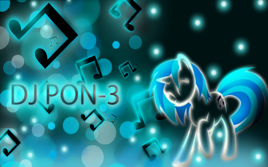 Dj Pon-3 wallpaper by ShadesofEverfree