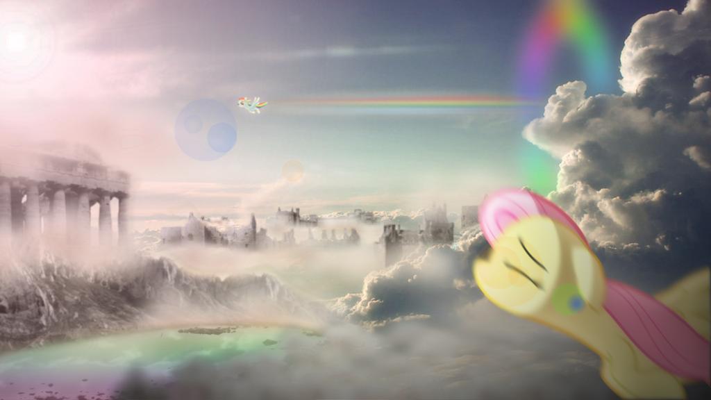 Flight Of The Pegasai by ShadesofEverfree